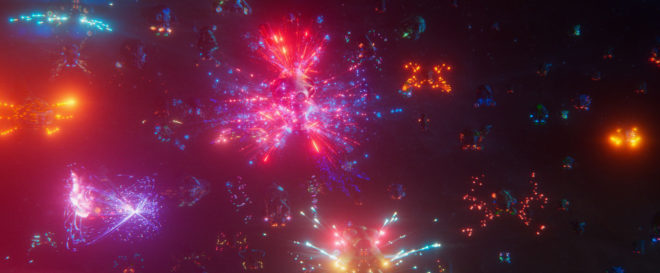 The end \'fireworks\' and holographic lasers in zero gravity..jpg